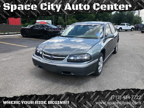 2004 Chevrolet Impala for sale at Space City Auto Center in Houston TX