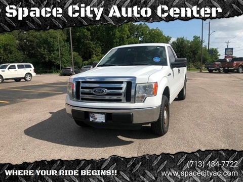 2012 Ford F-150 for sale at Space City Auto Center in Houston TX