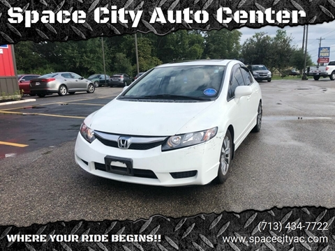 2010 Honda Civic for sale at Space City Auto Center in Houston TX
