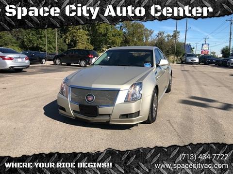 2013 Cadillac CTS for sale at Space City Auto Center in Houston TX