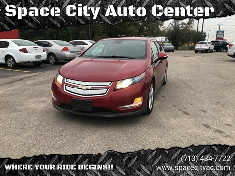 2013 Chevrolet Volt for sale at Space City Auto Center in Houston TX