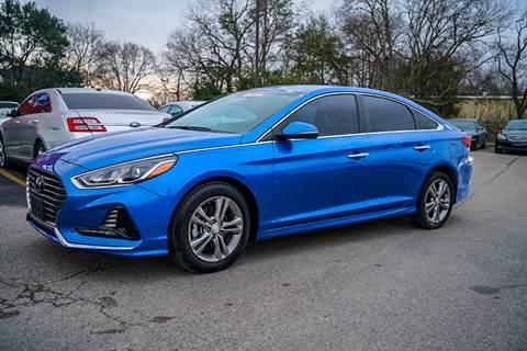 2018 Hyundai Sonata for sale at Space City Auto Center in Houston TX
