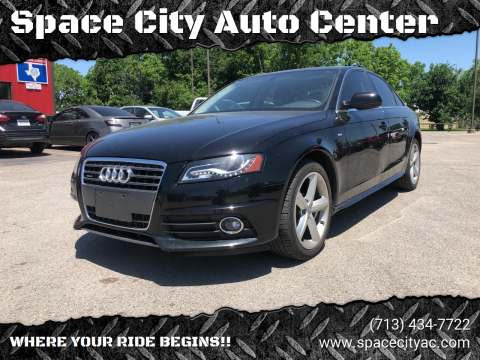 2012 Audi A4 for sale at Space City Auto Center in Houston TX