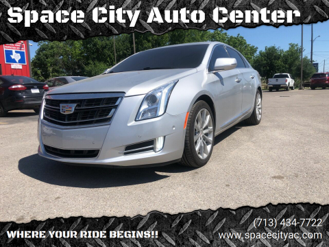 2016 Cadillac XTS for sale at Space City Auto Center in Houston TX
