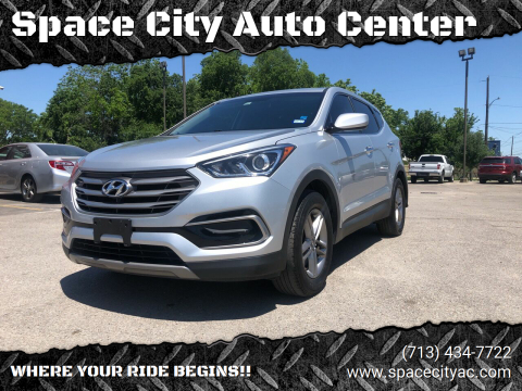 2017 Hyundai Santa Fe Sport for sale at Space City Auto Center in Houston TX