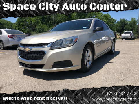 2014 Chevrolet Malibu for sale at Space City Auto Center in Houston TX