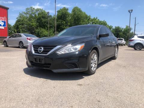 2016 Nissan Altima for sale at Space City Auto Center in Houston TX