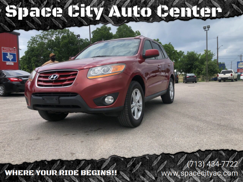 2011 Hyundai Santa Fe for sale at Space City Auto Center in Houston TX