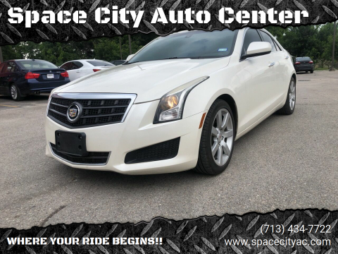 2014 Cadillac ATS for sale at Space City Auto Center in Houston TX