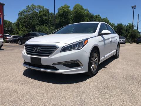 2015 Hyundai Sonata for sale at Space City Auto Center in Houston TX