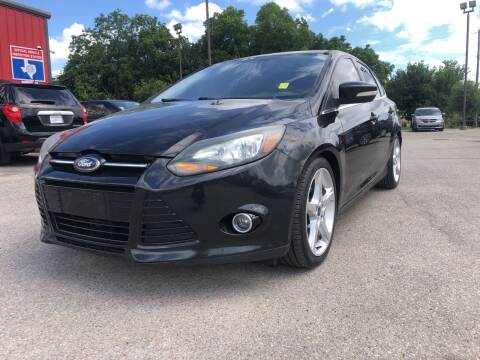 2014 Ford Focus for sale at Space City Auto Center in Houston TX