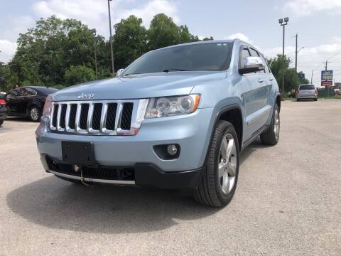 2012 Jeep Grand Cherokee for sale at Space City Auto Center in Houston TX