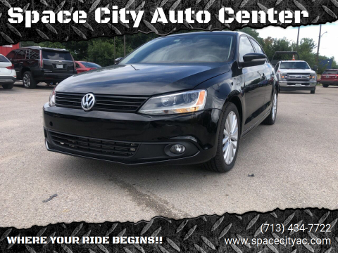 2013 Volkswagen Jetta for sale at Space City Auto Center in Houston TX