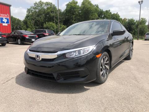 2017 Honda Civic for sale at Space City Auto Center in Houston TX