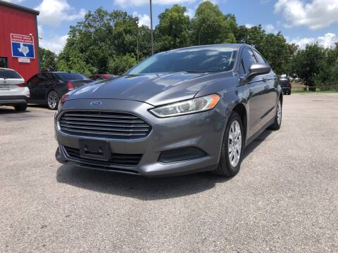 2013 Ford Fusion for sale at Space City Auto Center in Houston TX