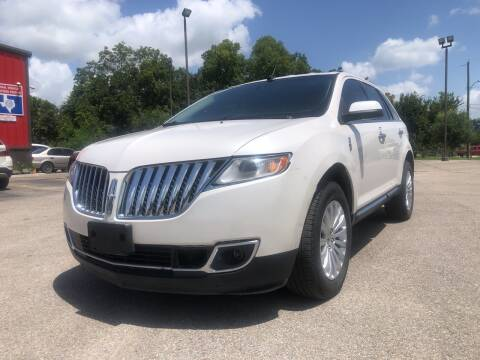 2013 Lincoln MKX for sale at Space City Auto Center in Houston TX