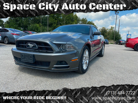 2013 Ford Mustang for sale at Space City Auto Center in Houston TX