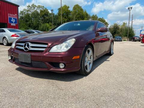 2011 Mercedes-Benz CLS for sale at Space City Auto Center in Houston TX