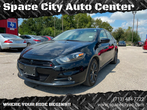 2016 Dodge Dart for sale at Space City Auto Center in Houston TX