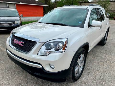 2012 GMC Acadia for sale in Houston, TX