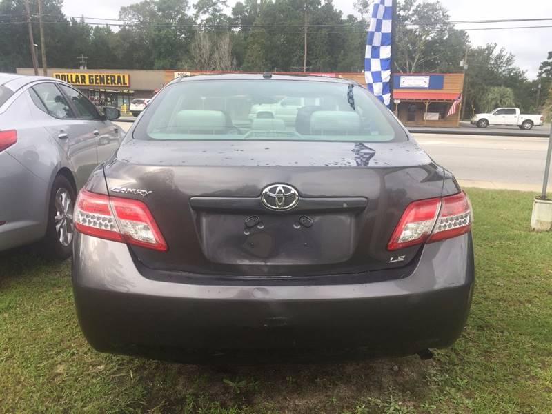 2011 Toyota Camry LE 4dr Sedan 6A - Walterboro SC