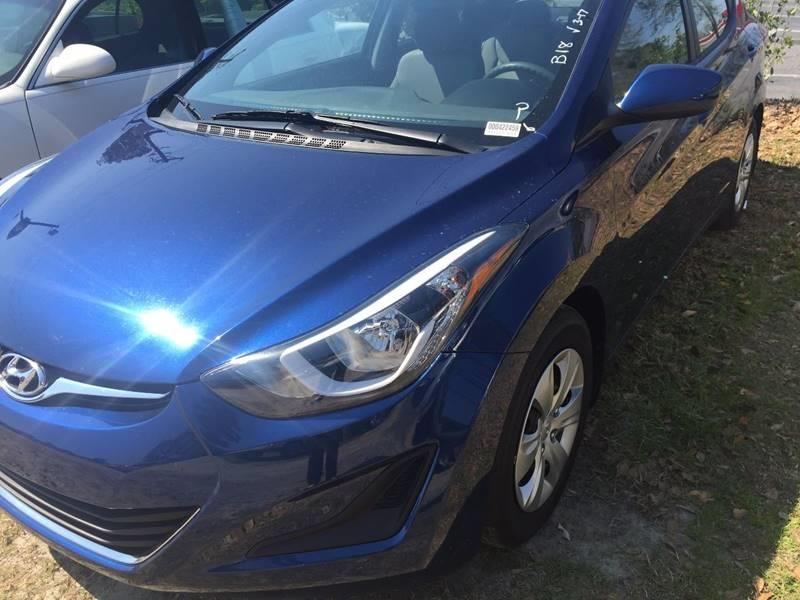 2016 Hyundai Elantra SE 4dr Sedan 6A (US) - Walterboro SC