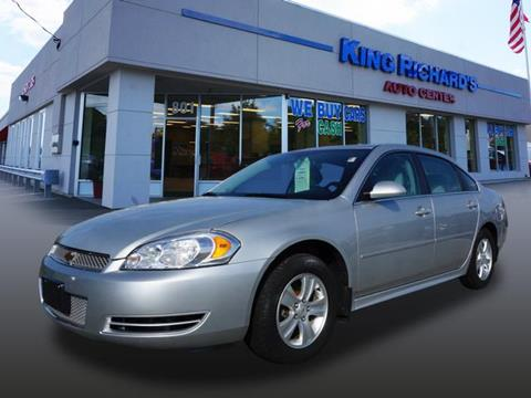 2012 Chevrolet Impala for sale in East Providence, RI