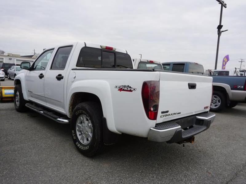 2004 gmc canyon 4dr crew cab z71 sle 4wd sb in east providence ri king richards auto center. Black Bedroom Furniture Sets. Home Design Ideas