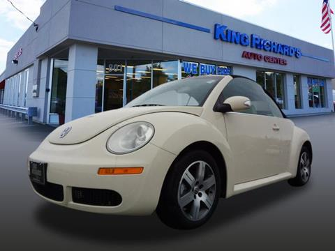 2006 Volkswagen New Beetle for sale in East Providence, RI