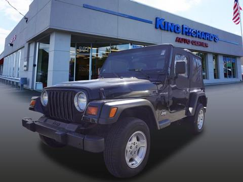 1999 Jeep Wrangler for sale in East Providence, RI