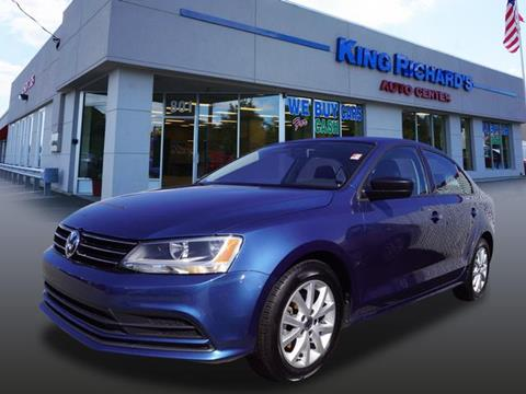 2015 Volkswagen Jetta for sale in East Providence, RI