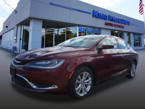 2015 Chrysler 200 for sale in East Providence, RI