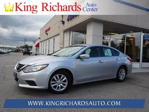 2016 Nissan Altima For Sale In East Providence, RI