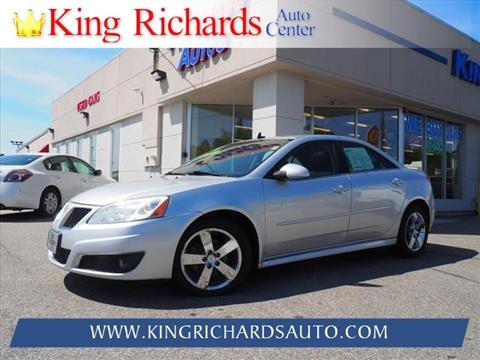 2010 Pontiac G6 for sale in East Providence, RI