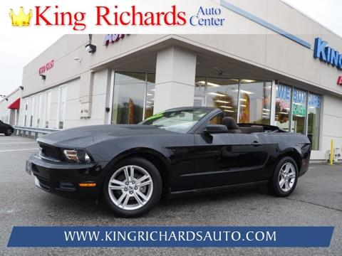 2010 Ford Mustang for sale in East Providence, RI