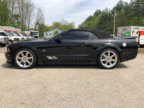 2007 Ford Mustang for sale at Top Line Motorsports in Derry NH
