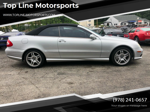 2004 Mercedes-Benz CLK for sale at Top Line Motorsports in Derry NH