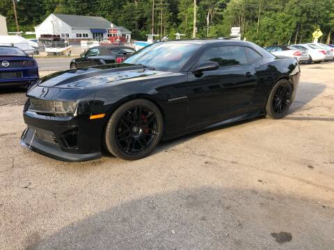 2011 Chevrolet Camaro for sale at Top Line Motorsports in Derry NH