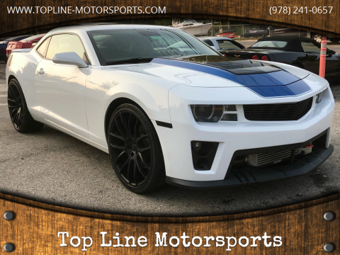 2010 Chevrolet Camaro for sale at Top Line Motorsports in Derry NH