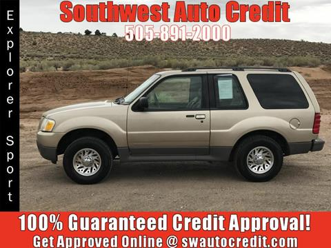 2001 Ford Explorer Sport for sale in Albuquerque, NM