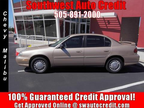 2002 Chevrolet Malibu for sale in Albuquerque, NM
