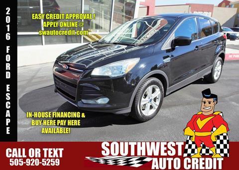 Southwest Auto Credit Used Cars Albuquerque Nm Dealer