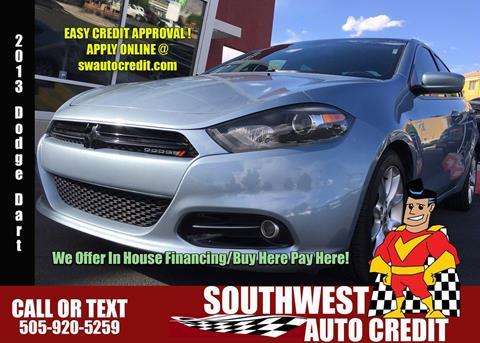 Southwest Auto Credit >> 2013 Dodge Dart For Sale In Albuquerque Nm