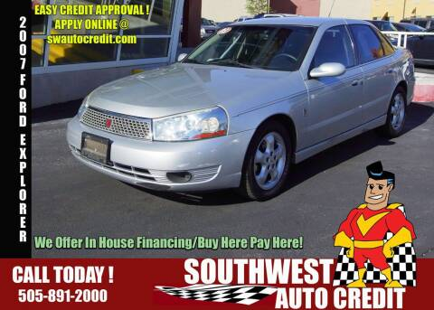 Southwest Auto Credit >> Saturn For Sale In Albuquerque Nm Southwest Auto Credit
