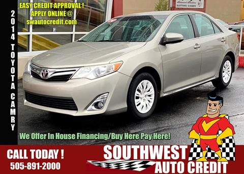 Southwest Auto Credit >> Toyota Camry For Sale In Albuquerque Nm Southwest Auto Credit
