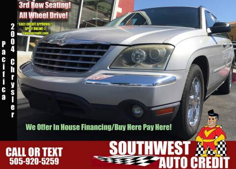 Southwest Auto Credit >> Chrysler For Sale In Albuquerque Nm Southwest Auto Credit