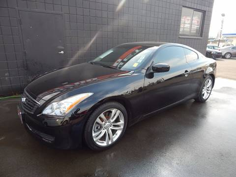 2009 Infiniti G37 Coupe for sale in Fresno, CA