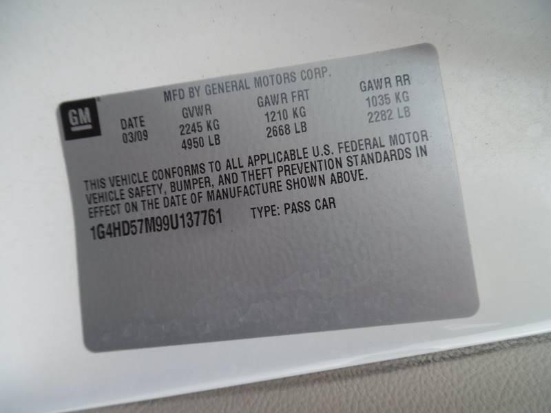 2009 Buick Lucerne CXL 4dr Sedan w/4XL - El Dorado Springs MO