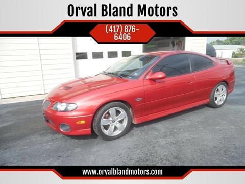 2006 Pontiac GTO for sale in El Dorado Springs, MO