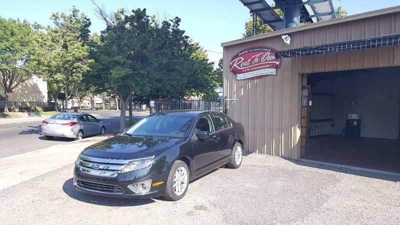 2012 Ford Fusion SEL 4dr Sedan - Modesto CA